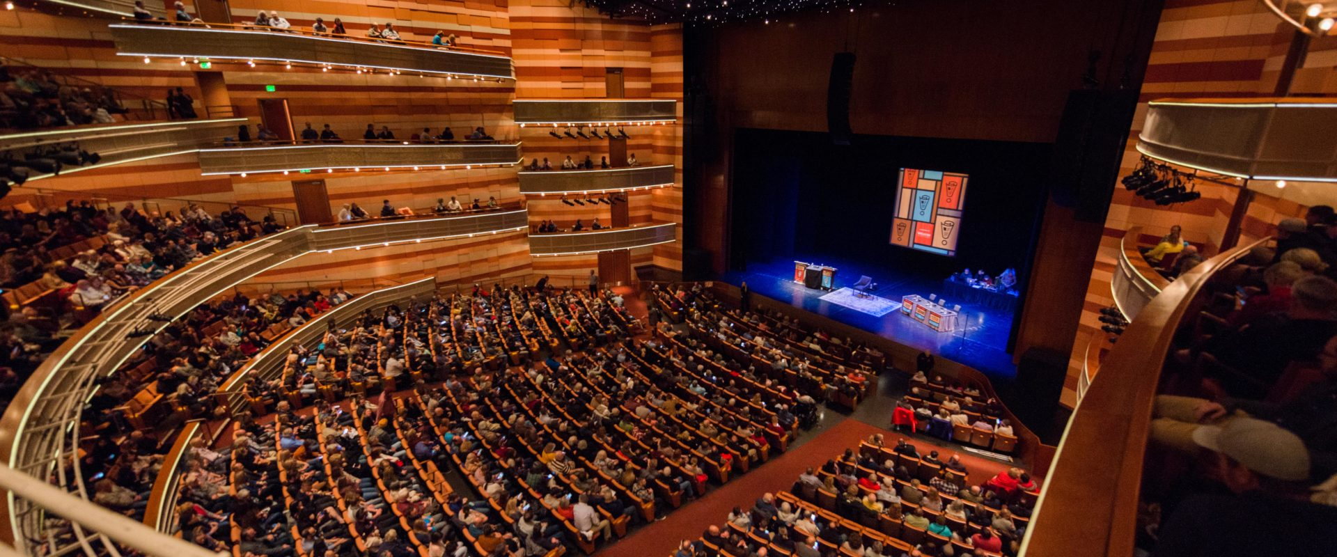 NPR's Wait Wait... Don't Tell Me! celebrates its 1000th live show for a sold out audience in Salt Lake City, UT